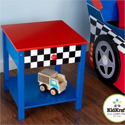 KidKraft Racecar Side Table