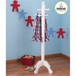 Kidkraft Deluxe Clothes Pole in White