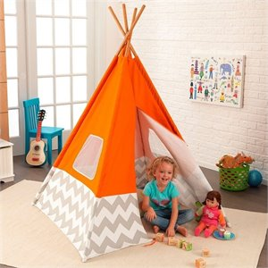 KidKraft Teepee in Orange