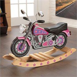 KidKraft Flower Power Rocking Motorcycle