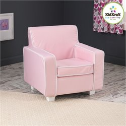KidKraft Laguna Chair in Pink with slip cover