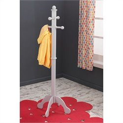 KidKraft Clothes Pole in Gray Fog
