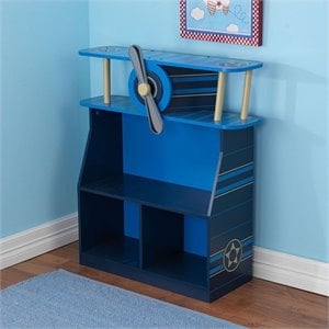 KidKraft Airplane Bookcase in Blue