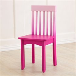 KidKraft Avalon Chair in Hot Pink Ombre