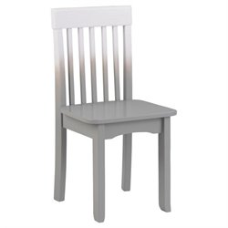 KidKraft Avalon Chair in Gray Fog Ombre