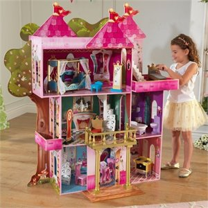 KidKraft Storybook Mansion Dollhouse in Multi-Color