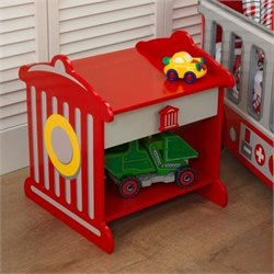 KidKraft Firefighter Hydrant 1 Drawer Nightstand