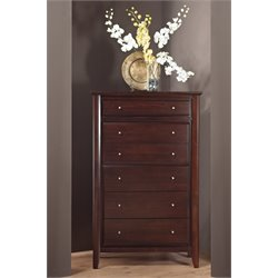 Modus City II 6 Drawer Chest in Coco Finish
