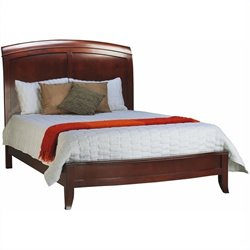 Modus Brighton Low Profile Sleigh Bed Complete 5 Piece Bedroom Set