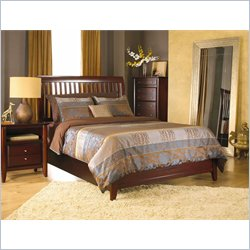 Modus Furniture International City II Rake Bed in Coco 3 piece Bedroom Set