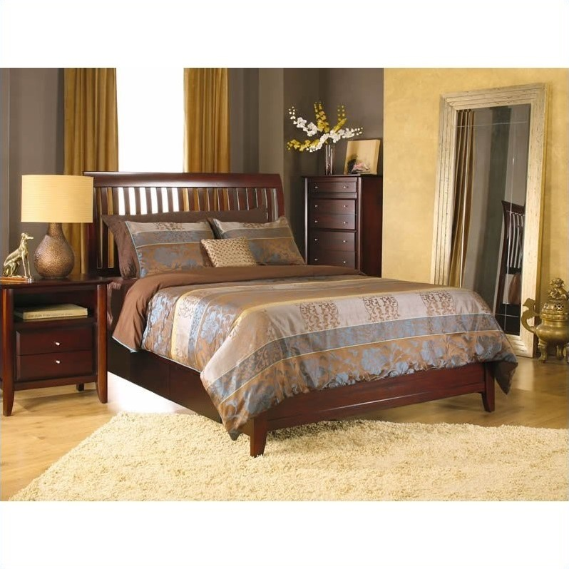 Modus Furniture City II Rake Storage Bed In Coco 3 Piece Bedroom Set 1X50YX