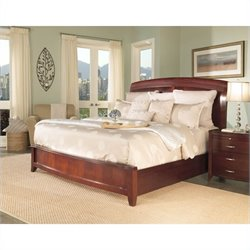 Modus Furniture Brighton Wood Storage Bed in Cinnamon 4 Piece Bedroom Set