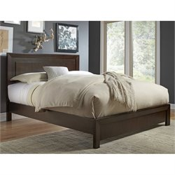 Modus Element Platform Bed in Chocolate Brown - California King
