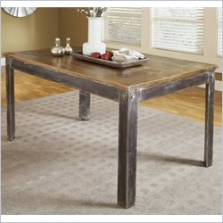 Modus Farmhouse Dining Table in Antique Walnut