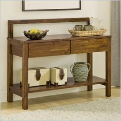 Modus Furniture Alba Solid Wood Sideboard in Honey