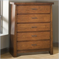 Modus Furniture Stella Chest in Medium Brown