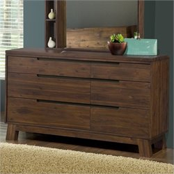 Modus Furniture Portland Dresser in Walnut