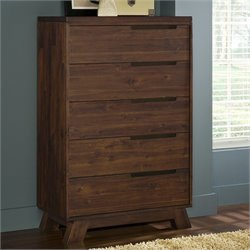 Modus Furniture Portland Chest in Walnut