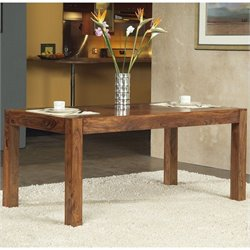 Modus Furniture Genus Dining Table in Medium Brown