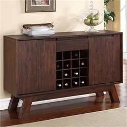 Modus Furniture Portland Sideboard in Walnut