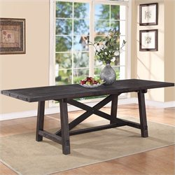 Modus Furniture Yosemite Rectangular Extension Dining Table in Cafe
