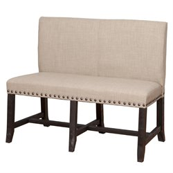 Modus Furniture Yosemite Dining Settee in Cafe