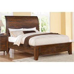 Modus Cally Bed in Antique Mocha - Queen