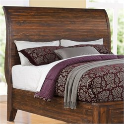 Modus Cally Sleigh Headboard in Espresso - Queen
