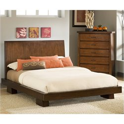 Modus Stella Platform Bed in Truffle - California king