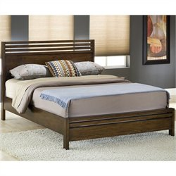 Modus Uptown Platform Bed in Truffle - California king
