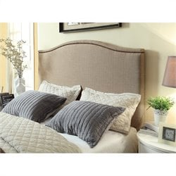Modus Geneva Camelback Headboard in Toast - California King