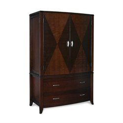Modus Brighton TV/Wardrobe Armoire in Cinnamon