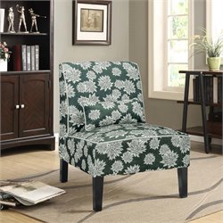 Lifestyle Solutions Maybell Chair in Floral Hunter Green