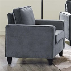 Lifestyle Solutions Silverton Chair in Gray