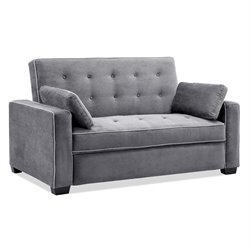Lifestyle Solutions Monroe Convertible Queen Sofa