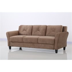 Lifestyle Solutions Norwalk Sofa in Brown