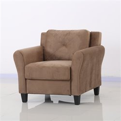 Lifestyle Solutions Norwalk Chair in Brown