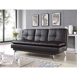 Relax-A-Lounger Imperial Sleeper Sofa in Black