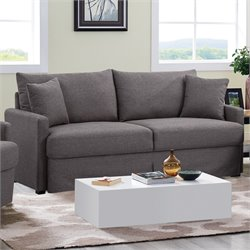 Lifestyle Solutions Arcade Sofa in Dark Gray