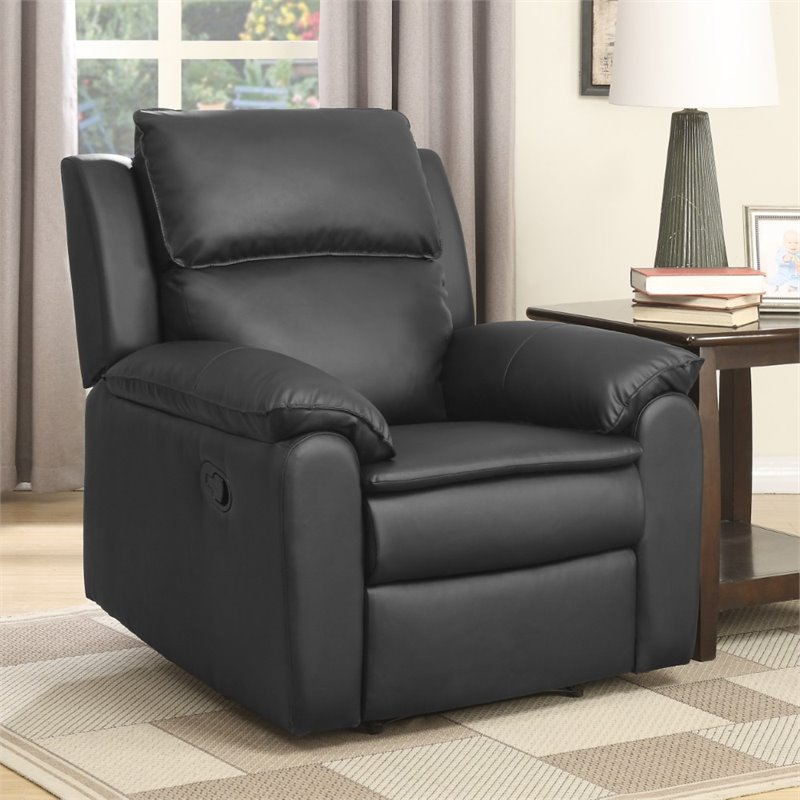 home furniture living room recliners relaxalounger aziza faux leather
