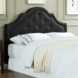 Lifestyle Solutions Jayla Kd Headboard in Black