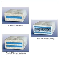 Lifestyle Solutions Futon Mattress - Select 6