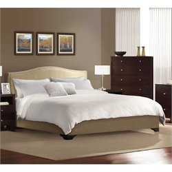 Lifestyle Solutions Magnolia Platform Bed in Cream - California King