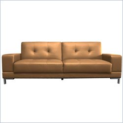 Lifestyle Solutions Serta Dream Convertible Sofa in Metropolitan Mocha
