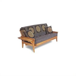 Lifestyle Solutions Fashion Hardwood Santa Cruz Full Size Futon Frame