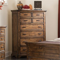 Coaster Elk Grove 6 Drawer Chest in Vintage Bourbon