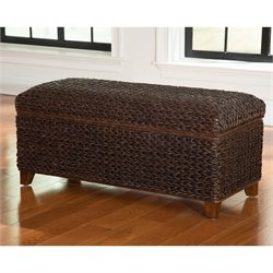 Coaster Laughton Bedroom Bench in Dark Brown