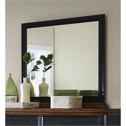 Coaster Mabel Dresser Mirror in Rubbed Black