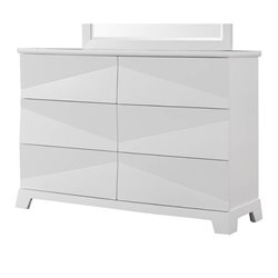 Coaster Karolina 6 Drawer Dresser in White