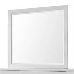 Coaster Karolina Contemporary Mirror in White